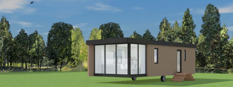 4-persoons Chalet 'Cube'