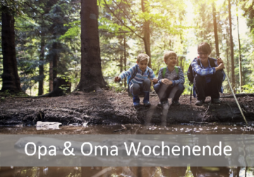 Opa & Oma- Camping-Wochenende