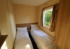 6 persoons stacaravan slaapkamer 2