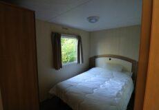 6 persoons stacaravan slaapkamer