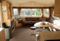 8 persoons chalet woonkamer